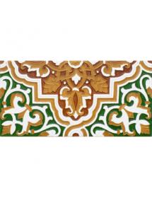 Sevillian relief tile MZ-032-01
