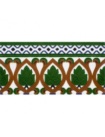 Sevillian relief tile MZ-055-00