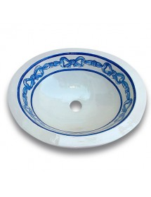 Oval Bow sink