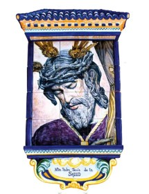 Cristo de la Salud mural