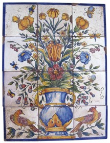 Mural jarrón