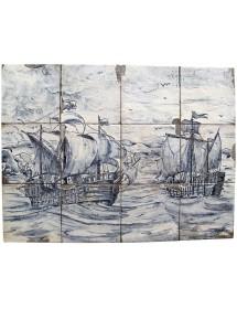 Mural marina