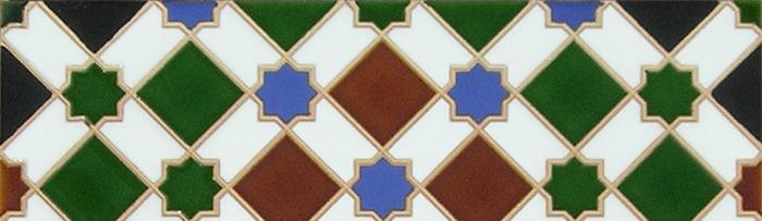 Arabian colour tiles